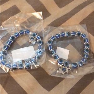 Unisex handmade eyes bracelet